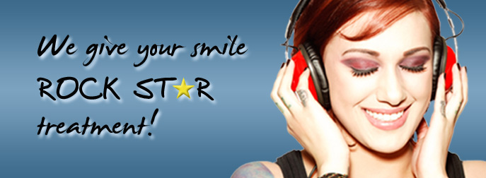 Rock Star Treatment for your Smile